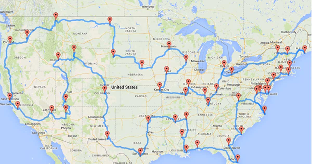 The Perfect American Road Trip Has Finally Been Planned