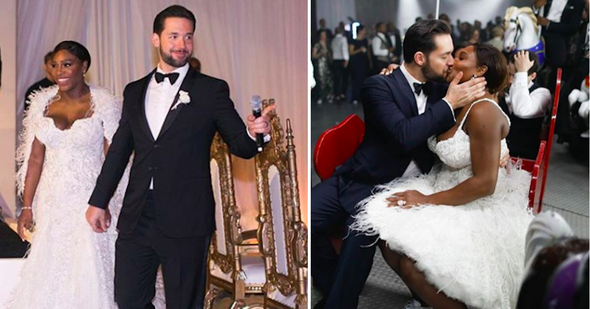 Serena Williams And Alexis Ohanian Finally Got Married
