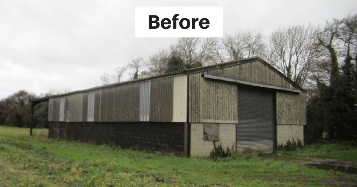 A Man Turned An Old Grain Shed Into 13 Million Home